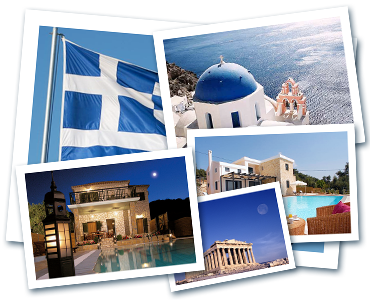 Grčka razglednice karioka